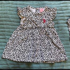 🆕 U.S. polo animal print dress